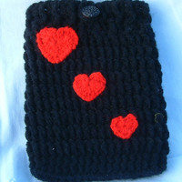 ebook reader cozy koobe crochet sleeve ereader case  ebook cover e-reader cover crochet ebook cover crochet ebook reader gift for valentine