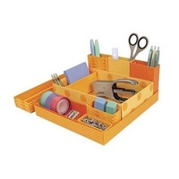 Dorm Desk Paper Organizers - Orange
