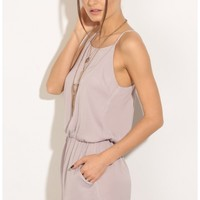 Rompers/Jumpsuits > Classic Romper In Dusty Lavender