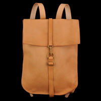 UNIONMADE - Kika NY - Leather Postal Backpack in Natural