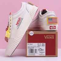 "Vans Old Skool ""NASA Space Voyager"" Woman Men Fashion Sport Shoes"