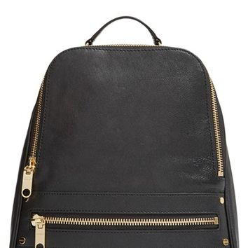 Milly 'Riley' Leather Backpack