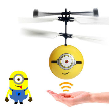 Despicable Me Minion Remote Control Helicopter-Stuart