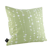 Inhabit Estrella Pussy Willows Linen Throw Pillow