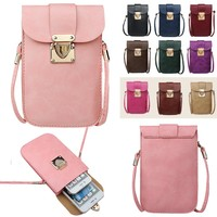 Adorable Messenger Cross-Body iPhone Pouch