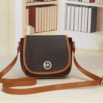 MK Women Shopping Bag Leather Satchel Crossbody Shoulder Bag