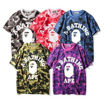 Bape Camouflage Tunic Shirt Top Blouse