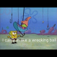 wrecking ball spongebob