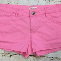 Back to Basic Shorts: Pink