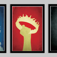 Game of Thrones Poster Set - 11x17