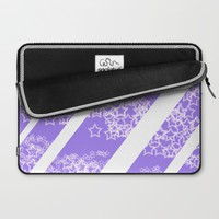 Flowing Stars #2 Laptop Sleeve by PICTO | Society6