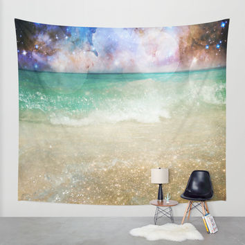 Interplanetary Wall Tapestry by Jenndalyn