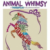 Animal Whimsy Creative Haven Adult Coloring CLR CSM