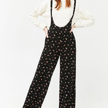 Floral Wide-Leg Jumpsuit