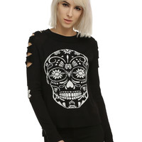 Sugar Skull Girls Pullover