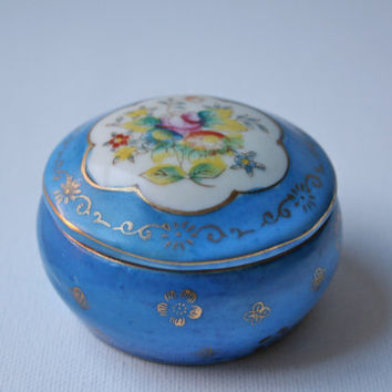 Trinket box Made in Occupied Japan