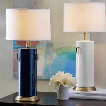 CELINE CERAMIC CYLINDER LAMP BASE