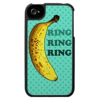 Banana Phone iPhone 4 Case from Zazzle.com