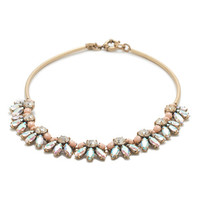 J.Crew Womens Crystal Bar Necklace