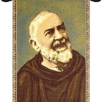 Padre Pio Father Pio Tapestry Wall Art Hanging