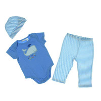 First Impressions Baby Boys Applique Infant Boys Pant Outfit
