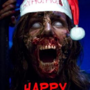 Zombie Christmas Greetings Poster 24in x 36in UNIQUE WEIRD 24x36