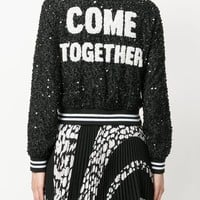 Alice+Olivia Embellished Bomber Jacket - Farfetch
