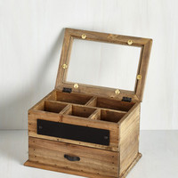 Rustic For Your Viewing Treasure Jewelry Box by ModCloth