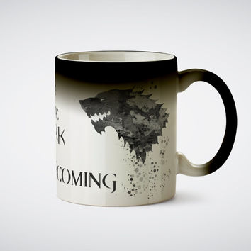 game of thrones Cup house stark mugs a song of ice and fire cup heat sensitive mug heat transforming heat changing color Ceramic