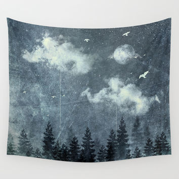 The cloud stealers Wall Tapestry by HappyMelvin