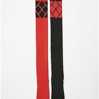 Harley Quinn Thigh High Socks - Spencer's