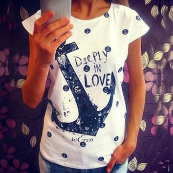 Women Anchor T-Shirt