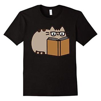 Pusheenss Reading T Shirt Pusheens Cat T Shirt