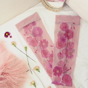 Flora Mirage Thigh-high Stockings 🌟Faster Shipping🌟 🌺 LOW INVENTORY🌺