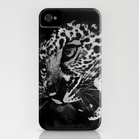 JungleCatNoire iPhone Case by Leah Flores | Society6