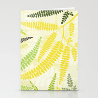 Fern Stationery Cards by Claudia Owen | Society6