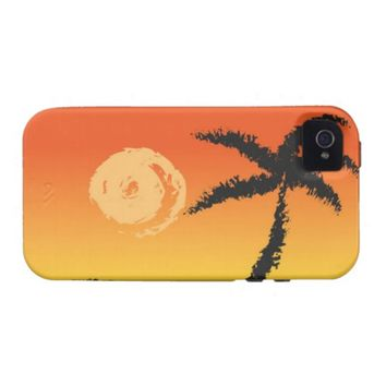Island Sunset iPhone 4 Cover