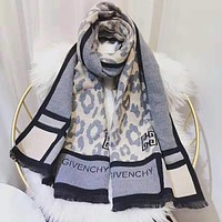 GIVENCHY Winter New Popular Women Men Cashmere Cape Scarf Scarves Shawl Accessories
