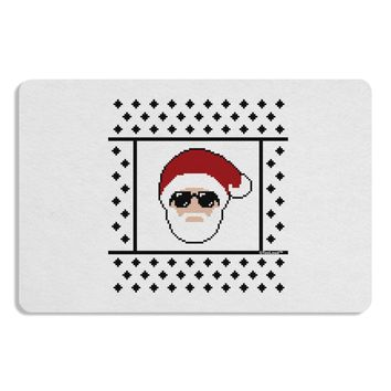 Cool Santa Christmas Sweater Placemat Set of 4 Placemats