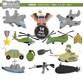 Military clipart, Cute military clip art, Army clipart, Air force clip art graphics / Personal and commercial use