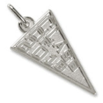 Class Of 2015 Charm In Sterling Silver