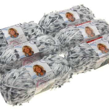 Premier Yarns Deborah Norville Serenity Bunnyhop Color Lot of 6 Skeins Balls