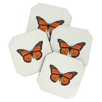 Chelsea Victoria The Queen Butterfly Coaster Set