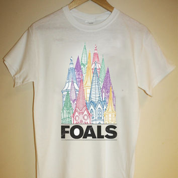 Foals T-shirt *indie rock antidotes total life forever yannis philippakis maccabees late of the pier mystery jets vtg* S M L XL