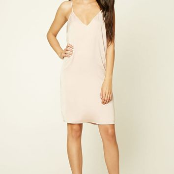 Contemporary Satin Slip Dress