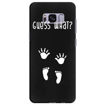 Guess What Baby Inside Pregnancy Announcement Samsung Galaxy S8 Plus
