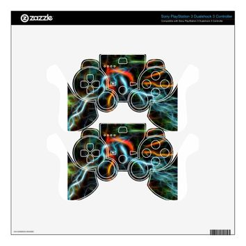 Neurons on Fire Skin For PS3 Controller