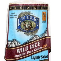 LUNDBERG: Wild Organic Rice Cakes Lightly Salted, 8.5 oz