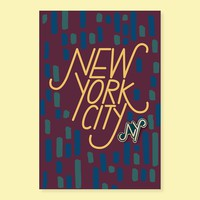 New York Pin + Post | The Good Twin