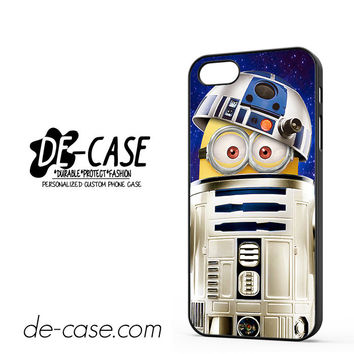 Despicable Me Minions Inside Star Wars R2d2 For Iphone 5 Iphone 5S Case Phone Case Gift Present